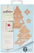 Spellbinders Shapeabilities Dies-Art Deco Trees. S4-657