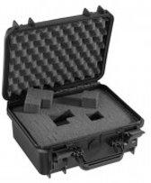 Gaffergear camera koffer 030 zwart   -  incl. plukschuim    -  30,00   x 14,80  x 14,80  cm (BxDxH)