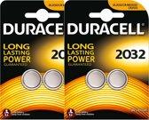 Duracell CR2032 Lithium Batterijen 3V - 2 x 2 blister