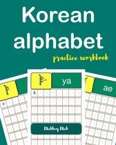 Korean Alphabet Workbook