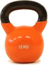 Kettlebell Focus Fitness - 12 kg - Gietijzer / Vinyl coating