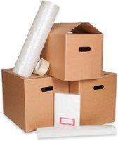 Verhuisdozen Verhuispakket 30 stuks - Klik Klak Verhuisdozen - Noppenfolie - Etiketten- Pakpapier - Verhuisboxen.nl