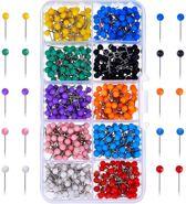 Punaises Voor Prikbord - 750 stuks - 10 Kleuren - Gekleurde - Kantoor