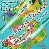 Johannes / Dimitar Penkov Flieder - Leclair; Six Sonatas