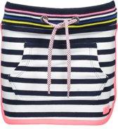 B. Nosy Meisjes Rok - Yarn dyed big stripe Navy/Whit - Maat 110