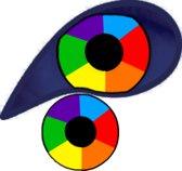 XtremeEyez - UV Rainbow- 1 maand lenzen