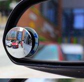 Dode hoek spiegel - SafeWay - 1 stuk - Autospiegel - Hoekspiegel voor de auto - 360 graden - Vrachtwagen - Bestelwagen - Instelbaar - Zelfklevend - Extra zicht - Rond - Vergroot gezichtsveld