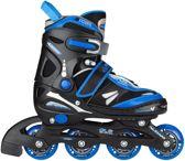 Inline Skates Zwart Blauw Maat 38-41