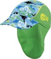 Beco Sealife - Baby zonnepetje - Jongens - Maat 46 cm - blauw/groen