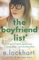 Boek cover Boyfriend List van E. Lockhart (Paperback)