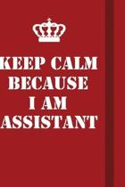Keep Calm Because I Am Assistant: Writing careers journals and notebook. A way towards enhancement