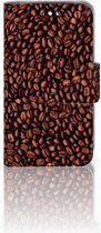 Huawei Y360 Uniek Boekhoesje koffiebonen Met Opbergvakjes