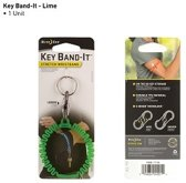 NITE IZE Key Band-It Stretch Wristband - Lime groen