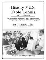 History of U.S. Table Tennis Volume 4