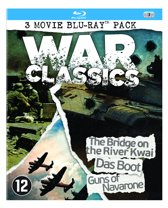 War Classics - The Bridge On The River Kwai / Das Boot / Guns Of Navarone (Blu-Ray) (3-pack)