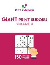 Giant Print Sudoku Volume 3