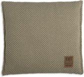 Knit Factory Lynn Kussen - Olive 50 x 50 cm