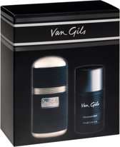 Van Gils Strictly for Men eau de toilette 50 ml geschenkset (2-delig)