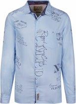 Camp David Overhemd lichtblauw uit de