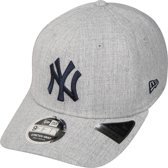 New Era pet heather base 9fifty stretch Grijs Gemêleerd-m/l (58-59)