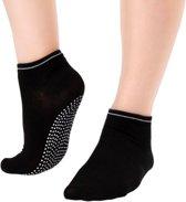 Anti slip yoga sokken zwart, ook voor pilates en piloxing!