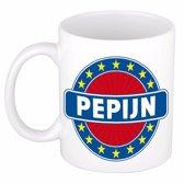 Pepijn naam koffie mok / beker 300 ml  - namen mokken