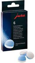 Jura 64488 2 in 1  Reinigingstabletten 6 stuks