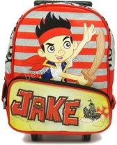Jake en de Nooitgedacht Piraten Rugzak Trolley Rugtas School Tas 2-5 jaar Disney