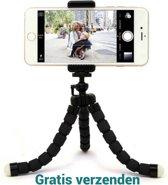Gratis verzenden Flexible Octopus Bubble Tripod houder Stand Mount voor mobiele telefoon (Iphone 6s / 7 Samsung S8 / S7 / S6 ) / Digital Camera(zwart) / Action Camera
