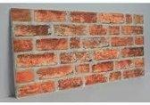 6 panelen (3M2) 100 x 50 cm 3D wandpanelen, kunst steenstrips, wandbekleding, kunststof steenstrips, isolatie panelen, decoratie wandpanelen code 156