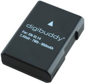 Digibuddy accu Nikon EN-EL14 (o.a. voor de Nikon D3100 / D3200 / D5100 / D5200)