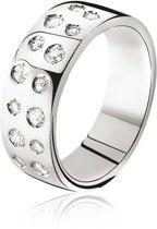 Zinzi - Zilveren Ring - Zirkonia - Maat 58 (ZIR574-58)