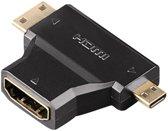 Hama HDMI-adapter A-vrouwelijk - C/D mannelijk
