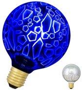 Bailey LED Magic 3D G95 E27 240V 4.5W Scherven Blauw 40lm
