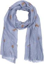 Sjaal 70*180 cm Grijs | MLSC0284G | Clayre & Eef