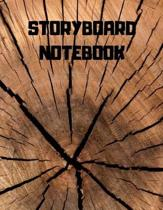 Storyboard Notebook: Storyboard Sketchbook Journal Novelty Gift for Creative Diary for Film Director, Blank panels Draw or Write In Ideas