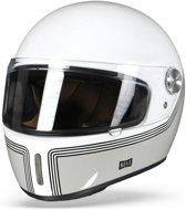 NEXX X.G100R MOTORDROME WIT INTEGRAALHELM XL