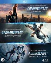 DVD cover van The Divergent Series: Divergent/Insurgent/Allegiant (Blu-ray)