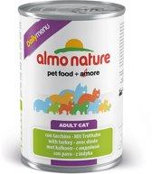 Almo Nature Daily Menu - Kalkoen - Kattenvoer - 12 x 400 g
