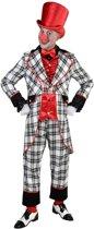 Clown & Nar Kostuum | Compleet Groot Russisch Staatscircus Clown | Man | Large | Carnaval kostuum | Verkleedkleding