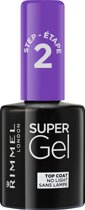 Rimmel London SuperGel Top Coat - 00 Transparant - Top Coat