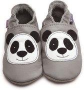 Inch Blue babyslofjes panda grey maat XL (14,5 cm)