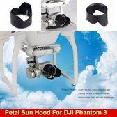 Camera Lens Protector Bloemblaadje Zonnekap DJI Phantom 3 4