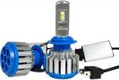 LED koplampen set Bi-LED HaverCo / H4 fitting / Waterproof / 35W 3500 lumen per lamp (7000 totaal)