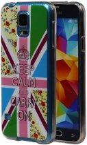 Samsung Galaxy S5 Hoesje Keizerskroon TPU