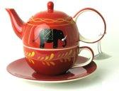 Tea for one set Benares- Keramiek