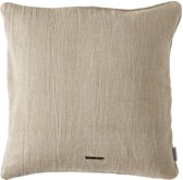 Riviera Maison Lovely Linen Pillow Cover - Kussenhoes - 50x50 cm - Natural