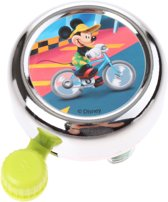 Widek Chroom - Fietsbel - Mickey Mouse - Groen