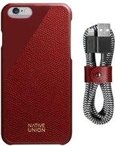 Native Union Clic Leather-Belt Cable Bundle - Bordeaux