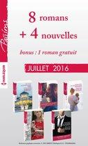 8 romans inédits Passions + 4 nouvelles inédites + 1 roman gratuit (nº605 à 609 - Juillet 2016)